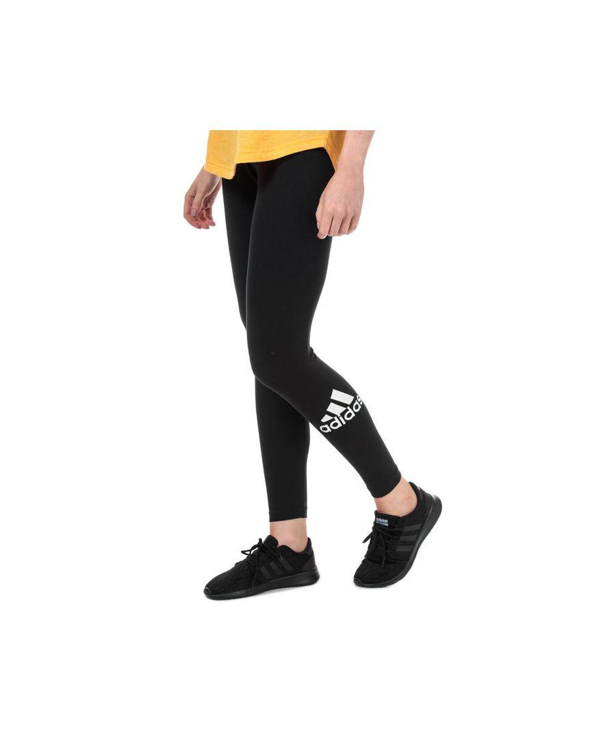 Image for Women's adidas Must Haves Badge Of Sport Leggings in Black-White
