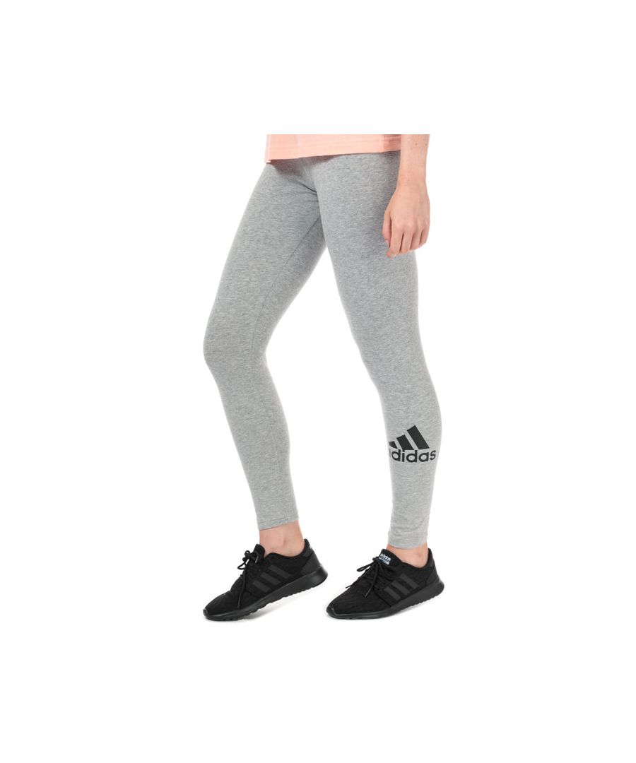 Image for Women's adidas Must Haves Badge Of Sport Leggings in Grey Marl