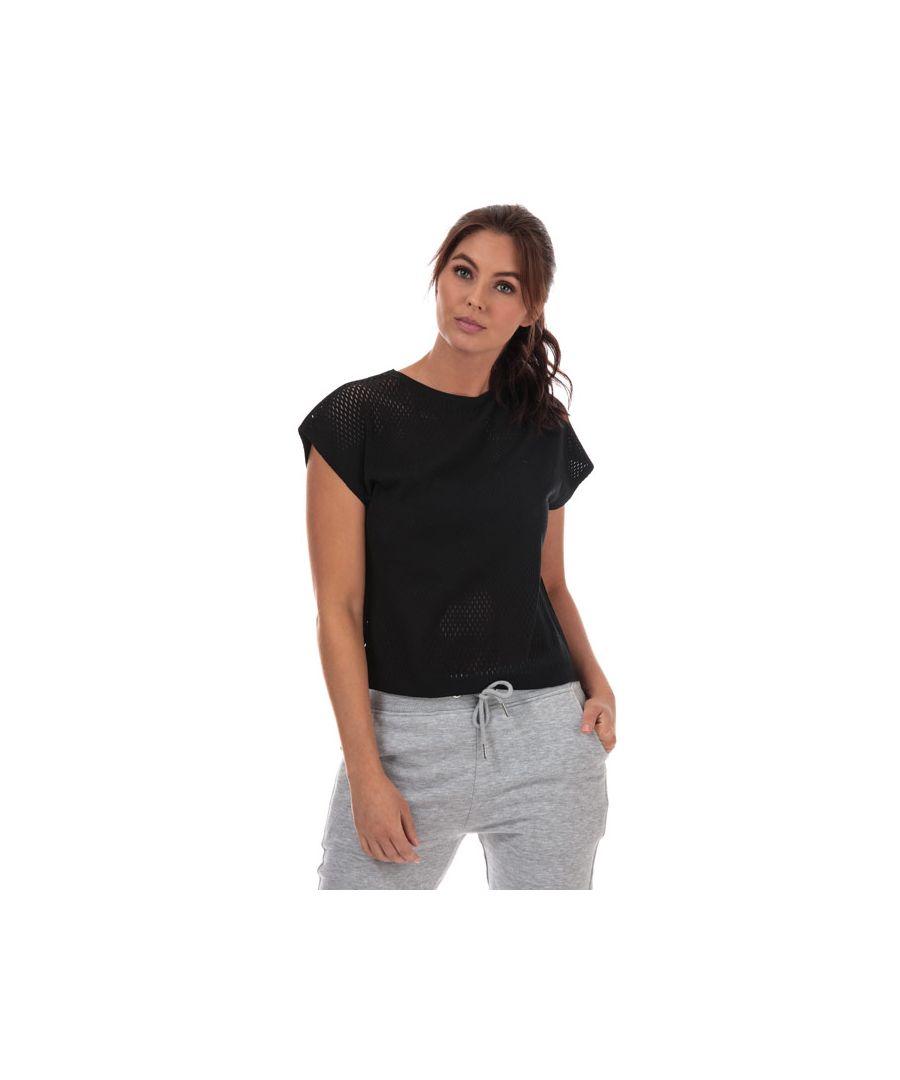 Image for Women's adidas Warp Knit T-Shirt in Black