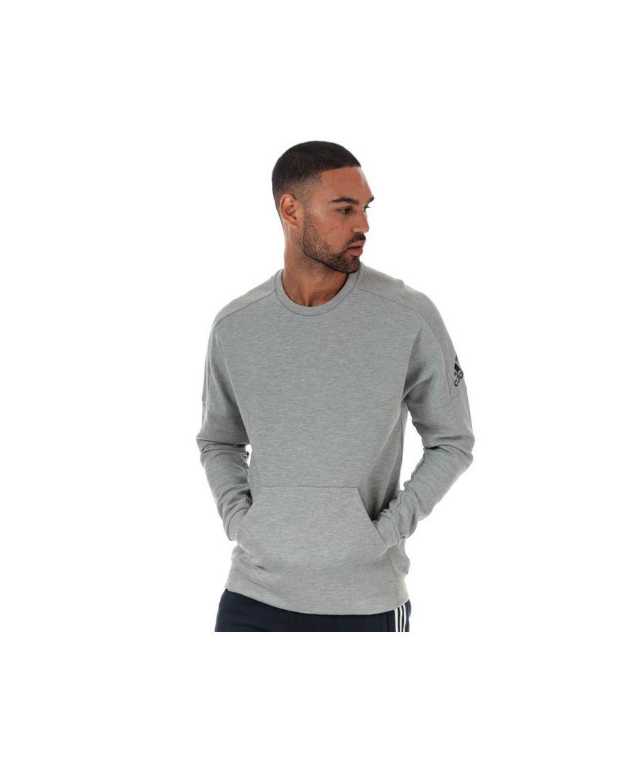 Image for Men's adidas ID Stadium Crew Sweatshirt in Grey