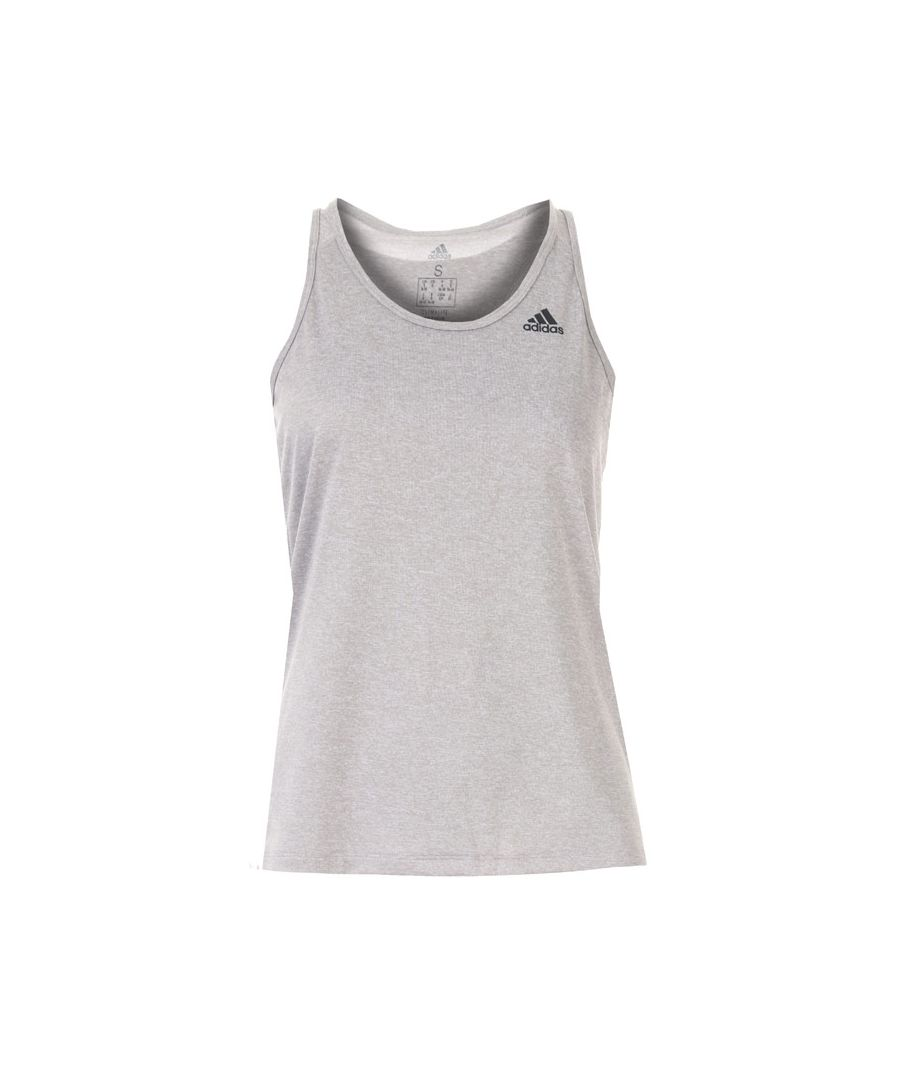 Image for Women's adidas Tech Prime 3-Stripes Tank Top in Light Grey