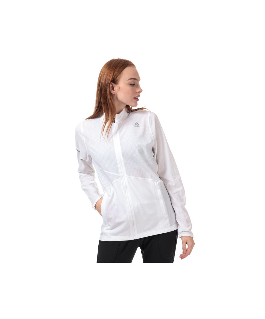Image for Women's Reebok One Series Hero Running Jacket in White