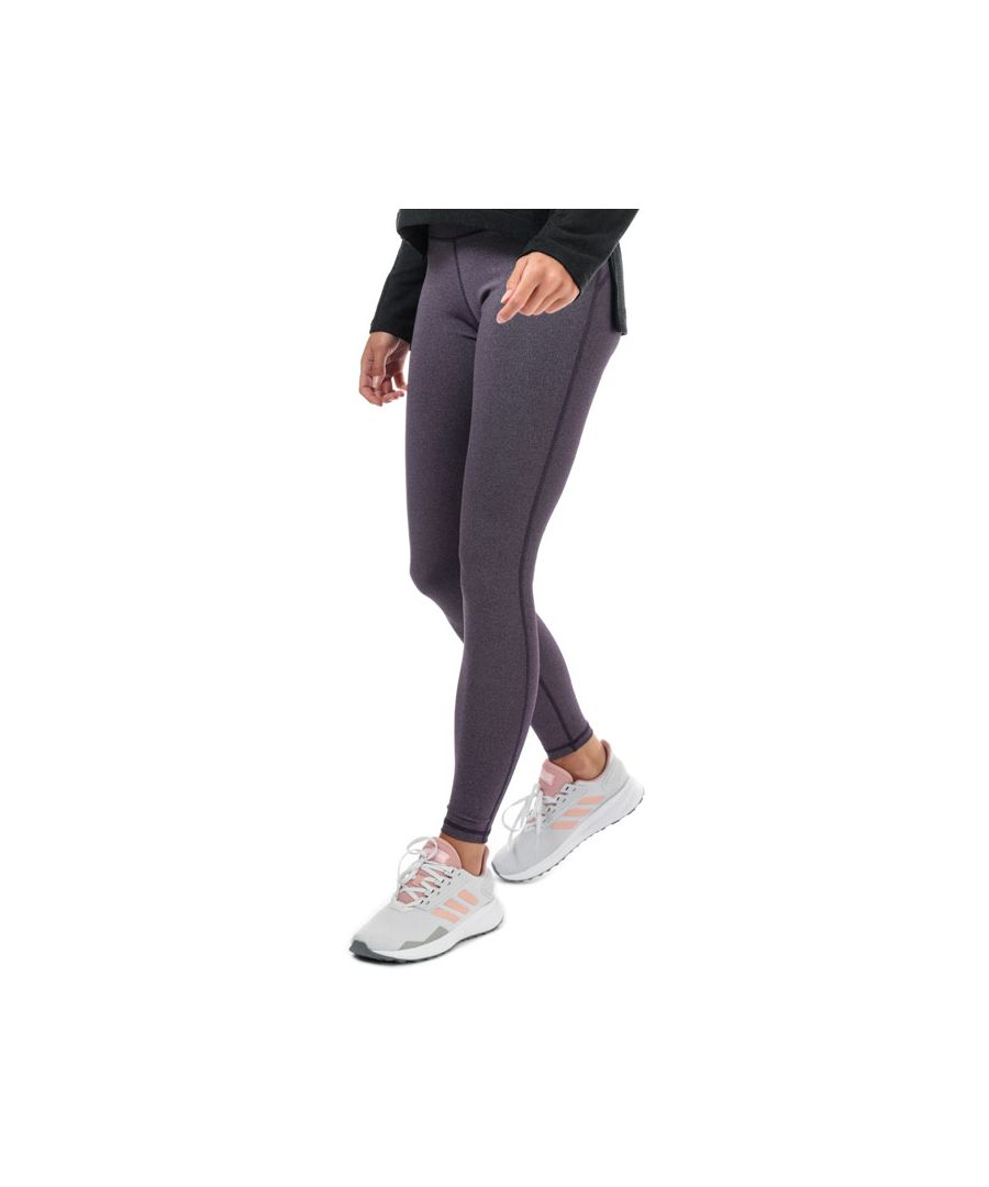 Image for Women's adidas Believe This Solid Leggings in Purple