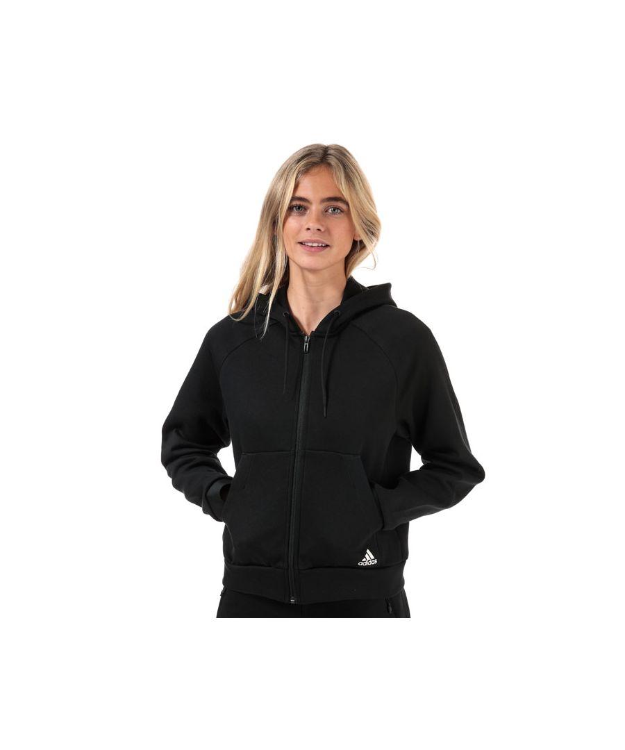 Image for Women's adidas Must Haves Zip Hoodie in Black