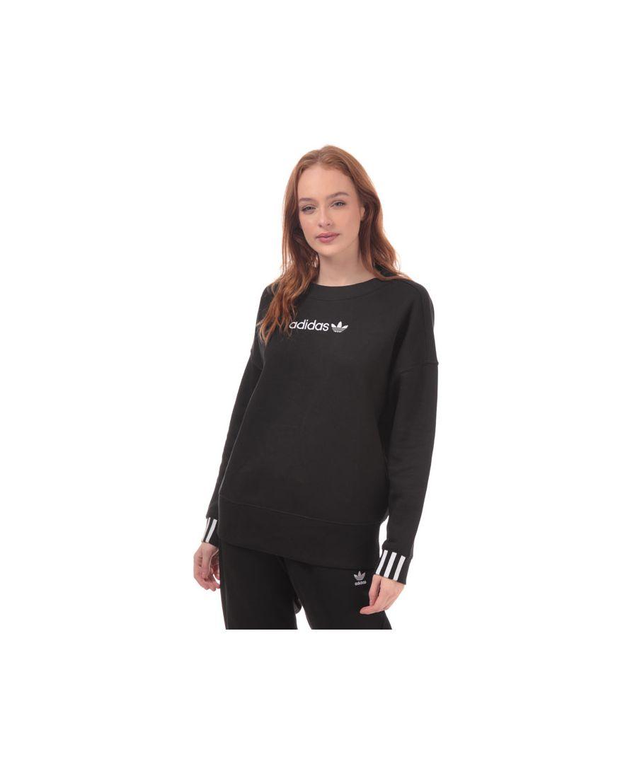 Image for Women's adidas Originals Coeeze Crew Sweatshirt in Black