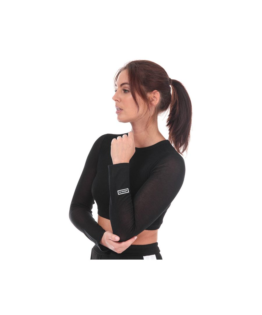 Image for Women's adidas Originals Long Sleeve Top in Black