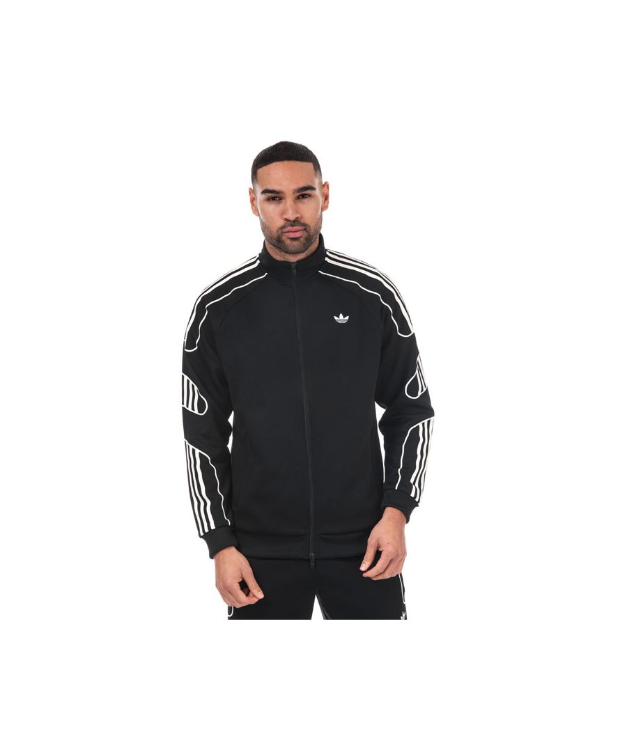 Image for Men's adidas Originals Flamestrike Track Top in Black
