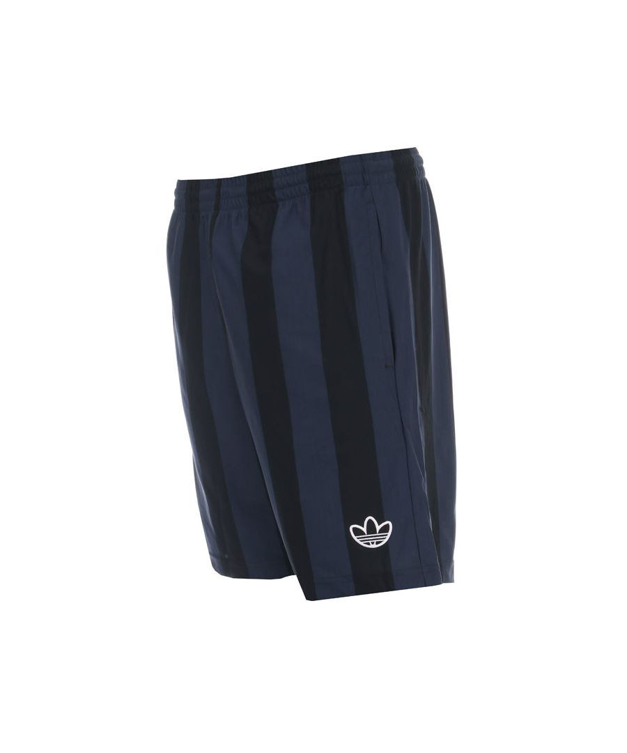 Image for Men's adidas Originals Stripes Shorts in Black