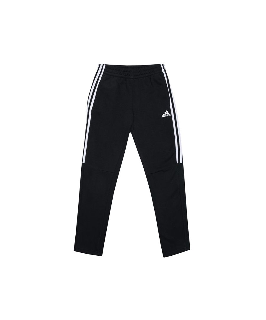Image for Boys' adidas Infant 3S Tiro Jog Pants in Black