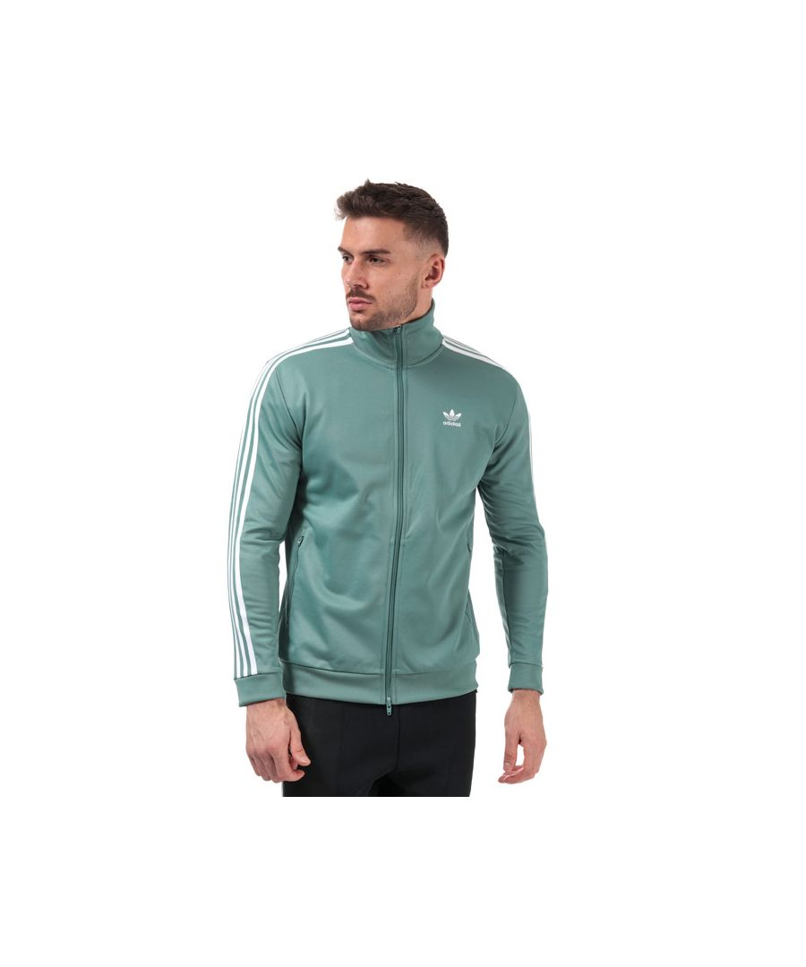 Image for Men's adidas Originals Beckenbauer Track Top in Mint