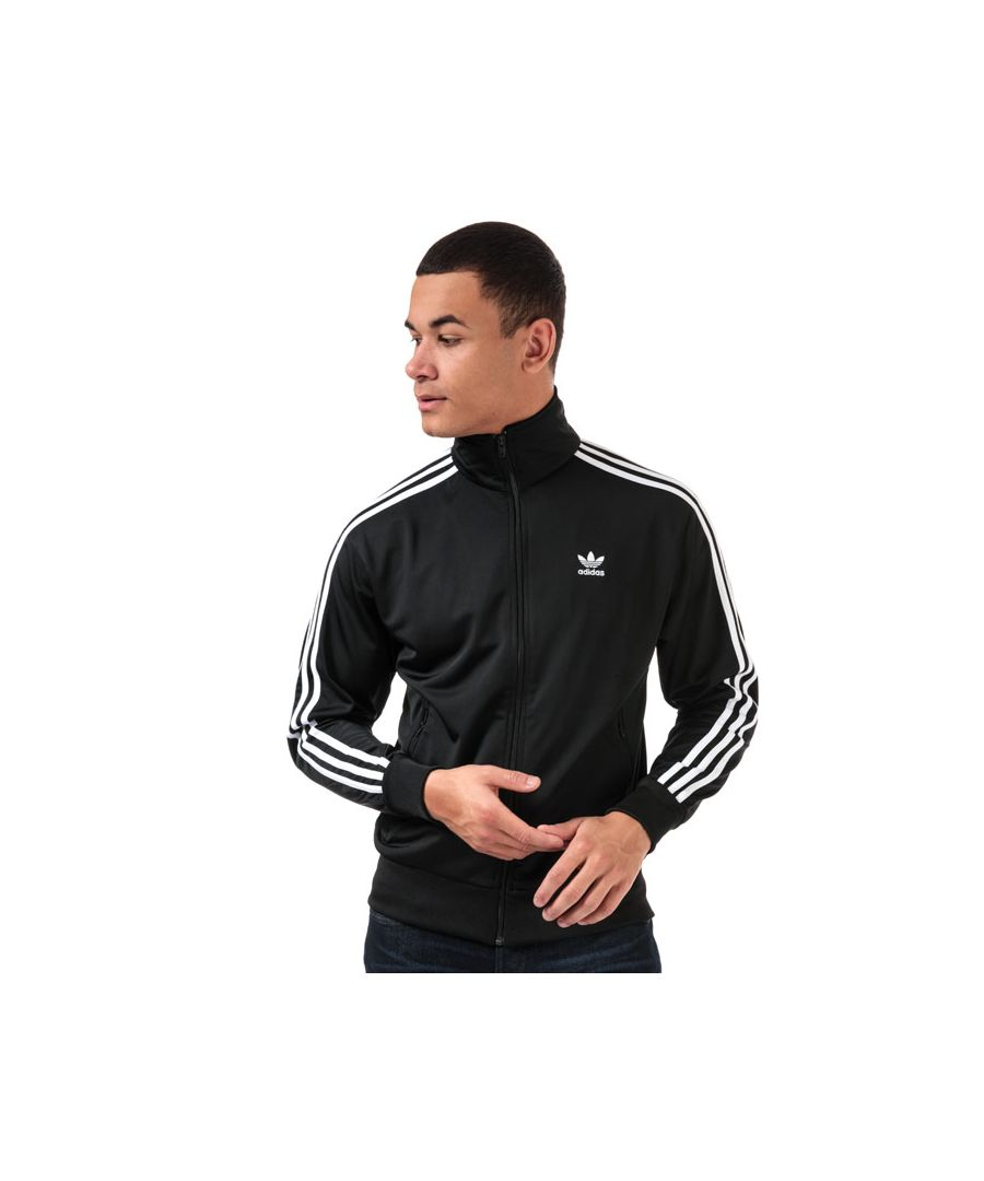 Image for Men's adidas Originals Firebird Track Top in Black