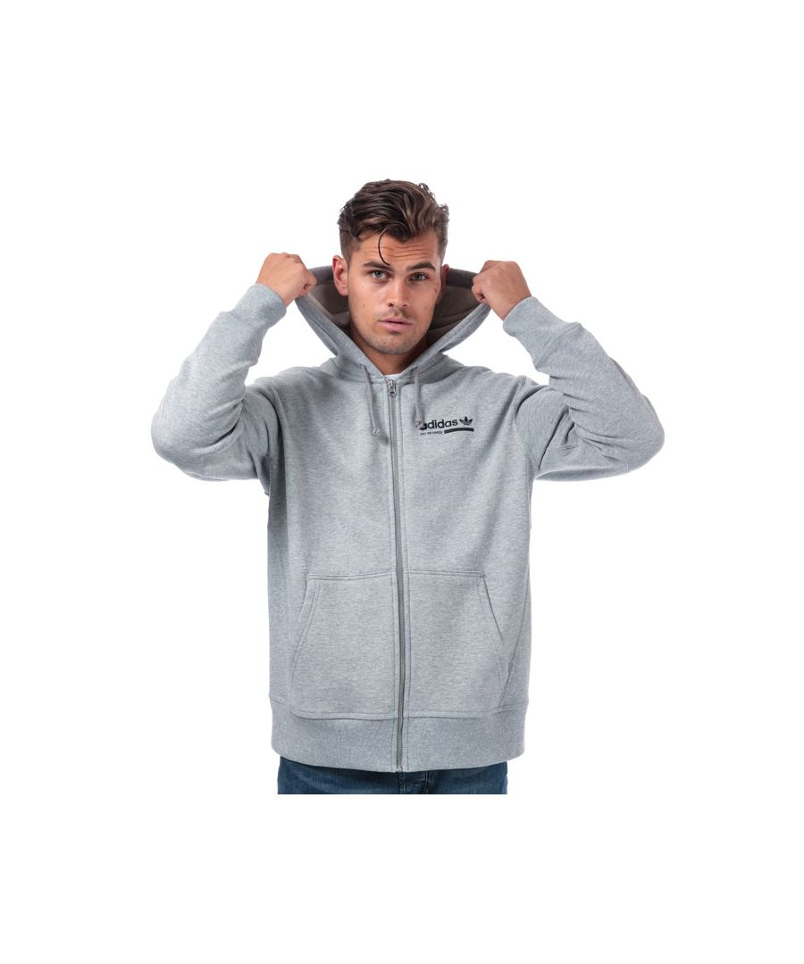 Image for Men's adidas Originals Kaval FZ Hoody in Grey