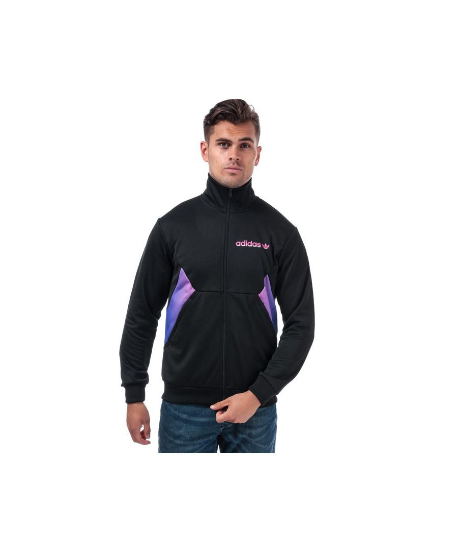 Image for Men's adidas Originals Degrade Track Jacket in Black