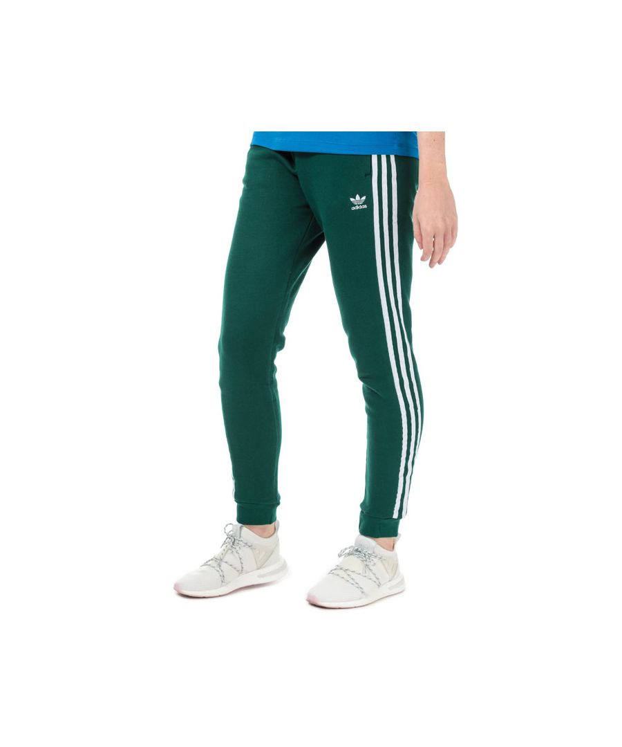 Image for Women's adidas Originals Cuffed Jog Pants in Green
