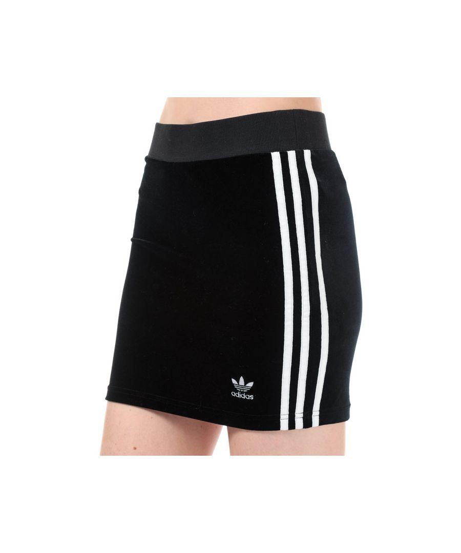 Image for Women's adidas Originals 3-Stripes Skirt in Black