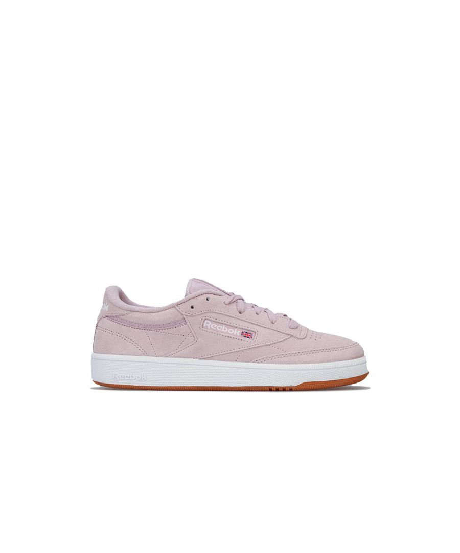 Image for Women's Reebok Classics Club C 85 Trainers in Lilac