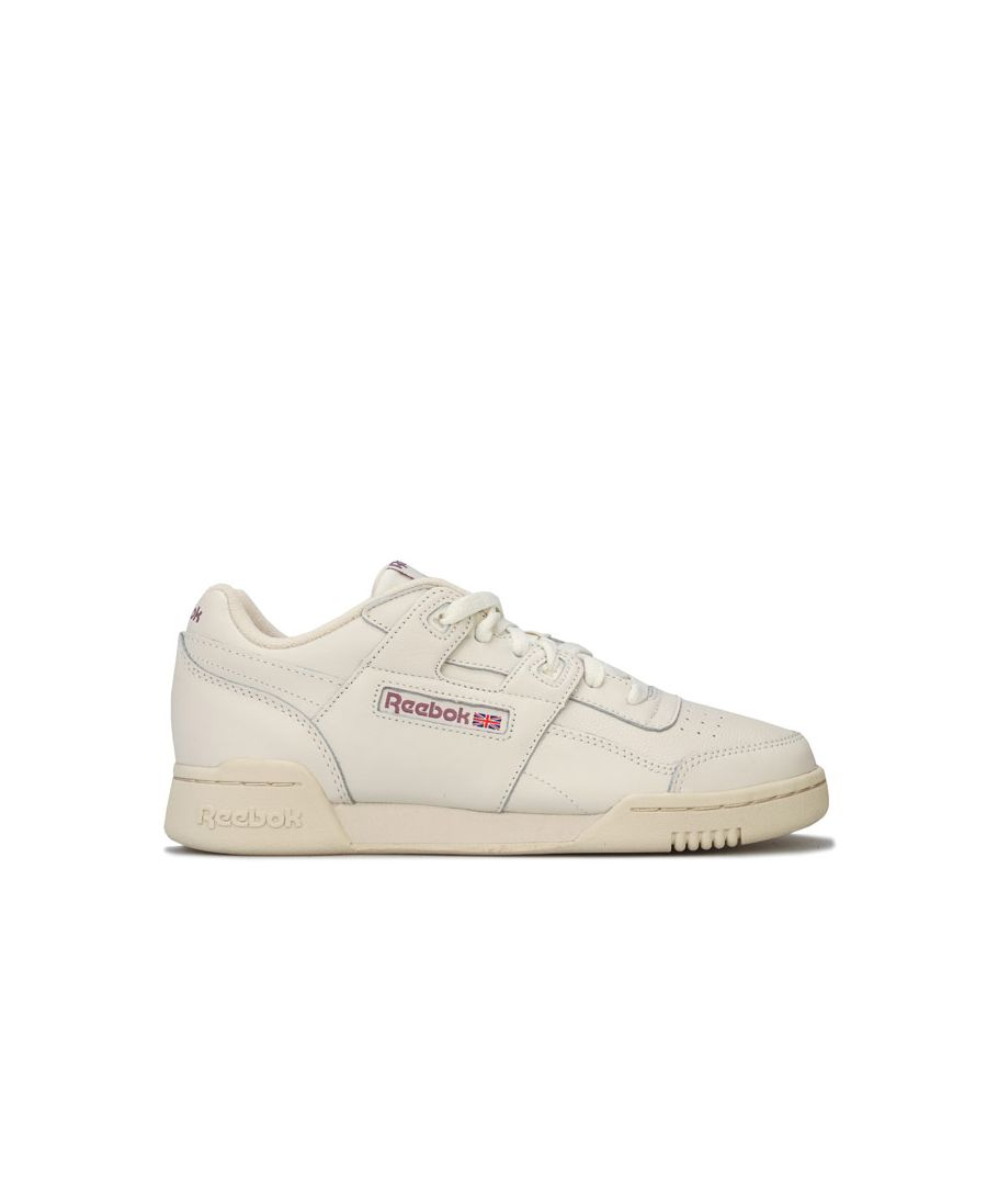 Image for Women's Reebok Classics Workout Lo Plus Trainers in Chalk