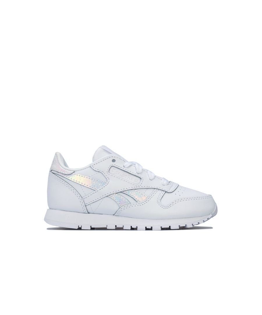 Image for Girl's Reebok Classics Children Classic Leather Trainers in White