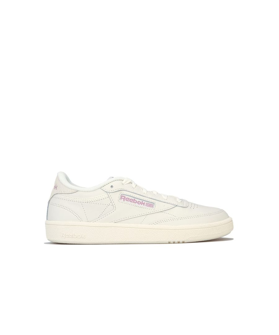 Image for Women's Reebok Classics Club C 85 Trainers in Chalk