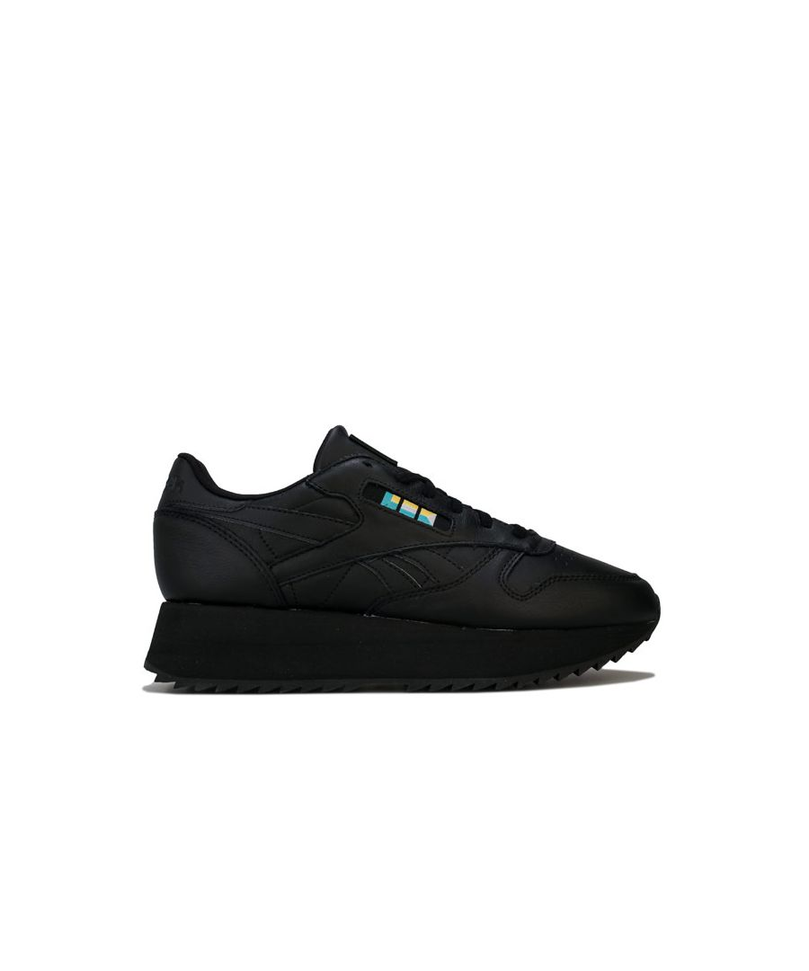 Image for Women's Reebok Classics Gigi Hadid Classic Leather Double Trainers in Black