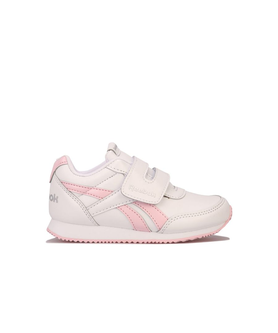 Image for Girl's Reebok Infant Royal Jogger Trainers in White