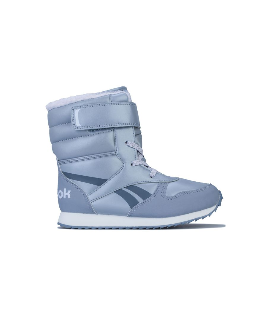 Image for Girl's Reebok Classics Junior Classic Jogger Snow Boots in Lilac