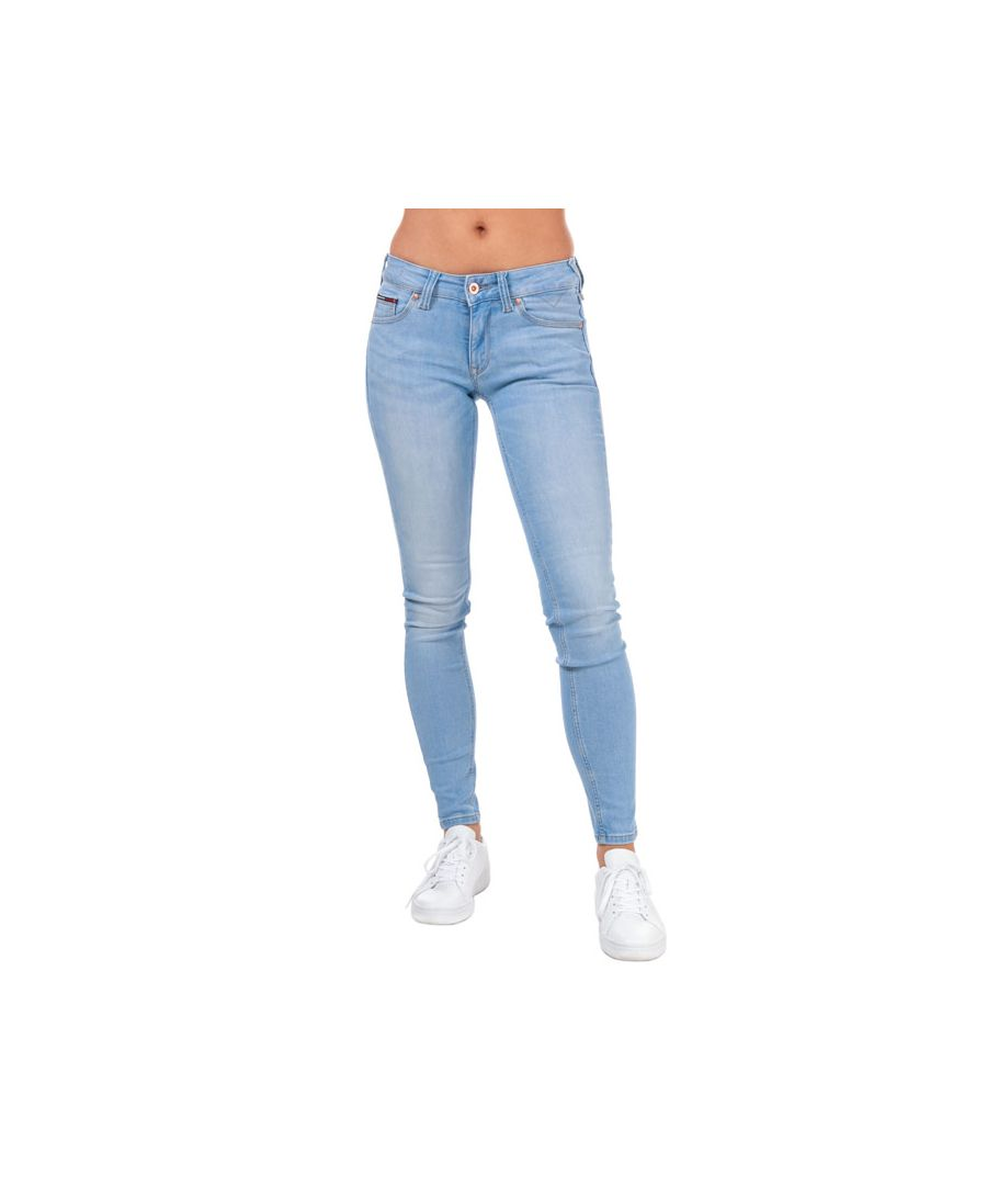 Image for Tommy Hilfiger Women's Sophie Low Rise Skinny Jeans in Denim