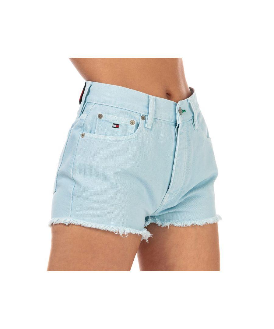 Image for Women's Tommy Hilfiger 90's High Waist Denim Shorts in Denim