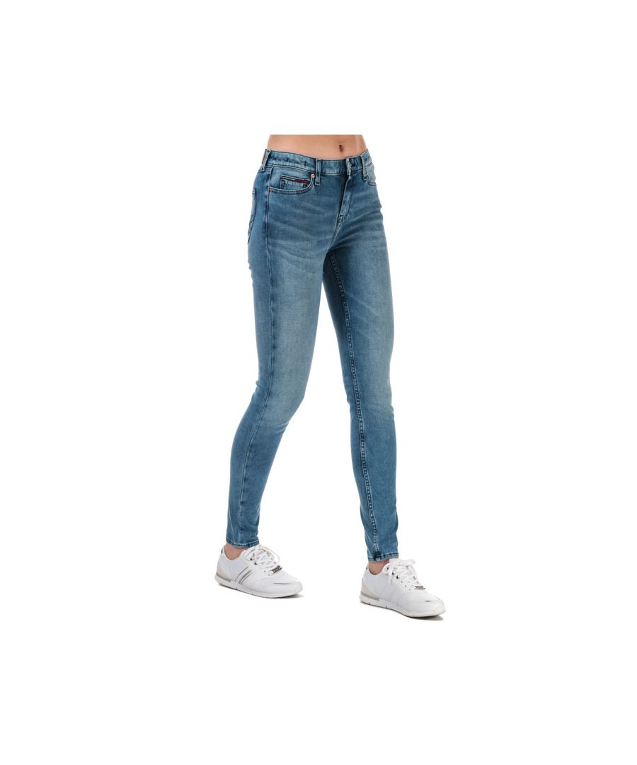 Image for Women's Tommy Hilfiger Nora Dynamic Bi-Stretch Skinny Jeans in Denim