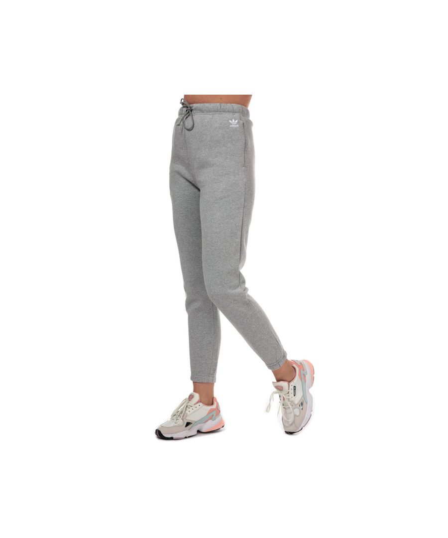Image for Women's adidas Originals Styling Complements High-Rise Jog Pants in Grey Marl