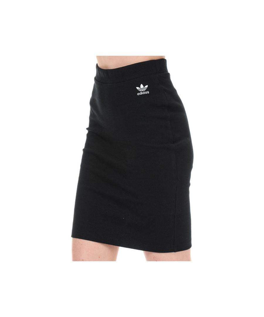 Image for Women's adidas Originals Styling Complements Midi Skirt in Black