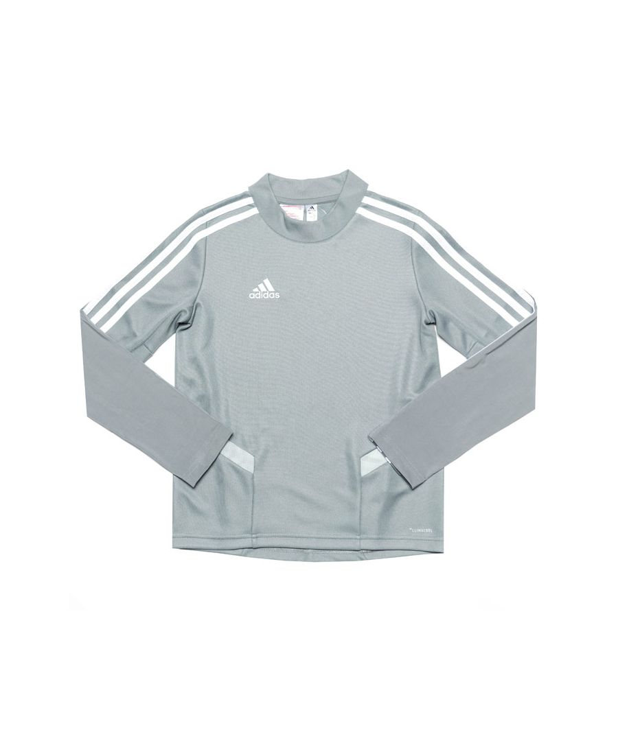 Image for Boy's adidas Infant Tiro 19 Training Top in Grey