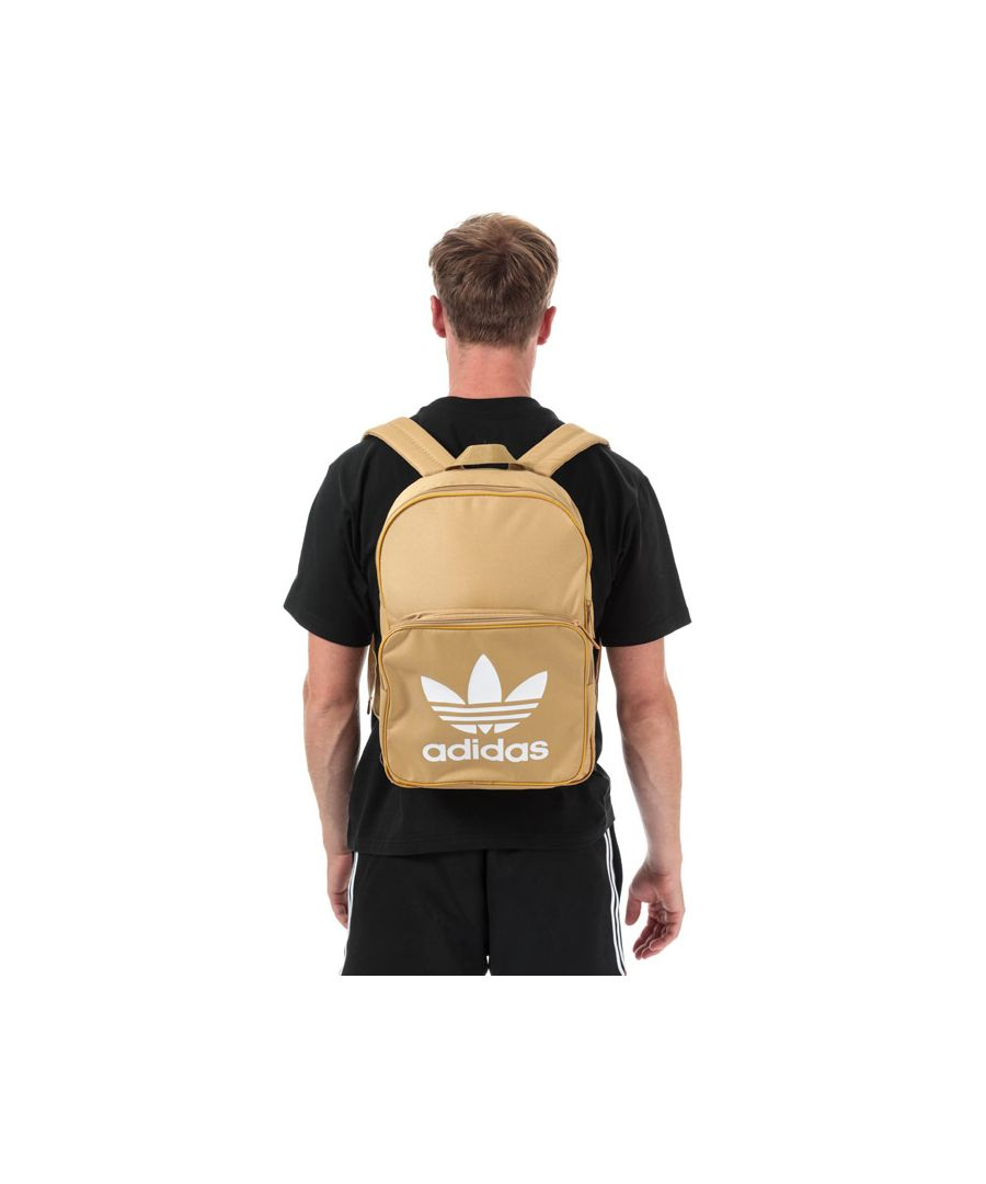 Image for Accessories adidas Originals Classic Trefoil Backpack in Sand