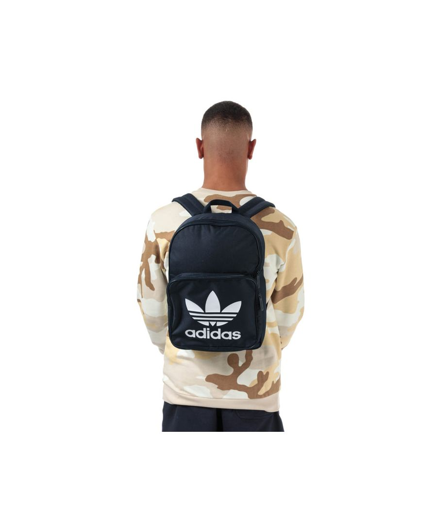 Image for Accessories adidas Originals Classic Trefoil Backpack in Navy