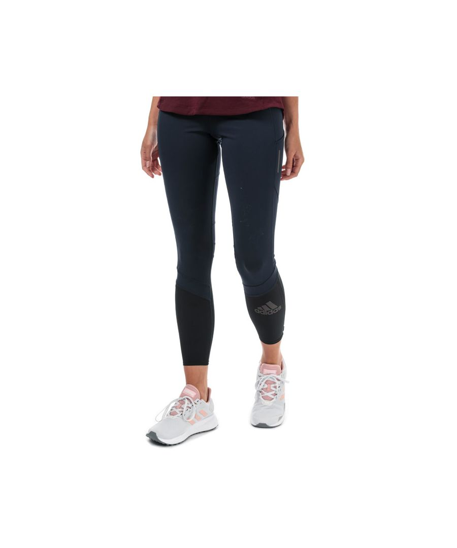 Image for Women's adidas How We Do Rise Up N Run Leggings in Navy