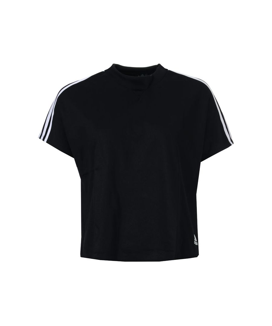 Image for Women's adidas AtT-Shirttude T-Shirt in Black-White
