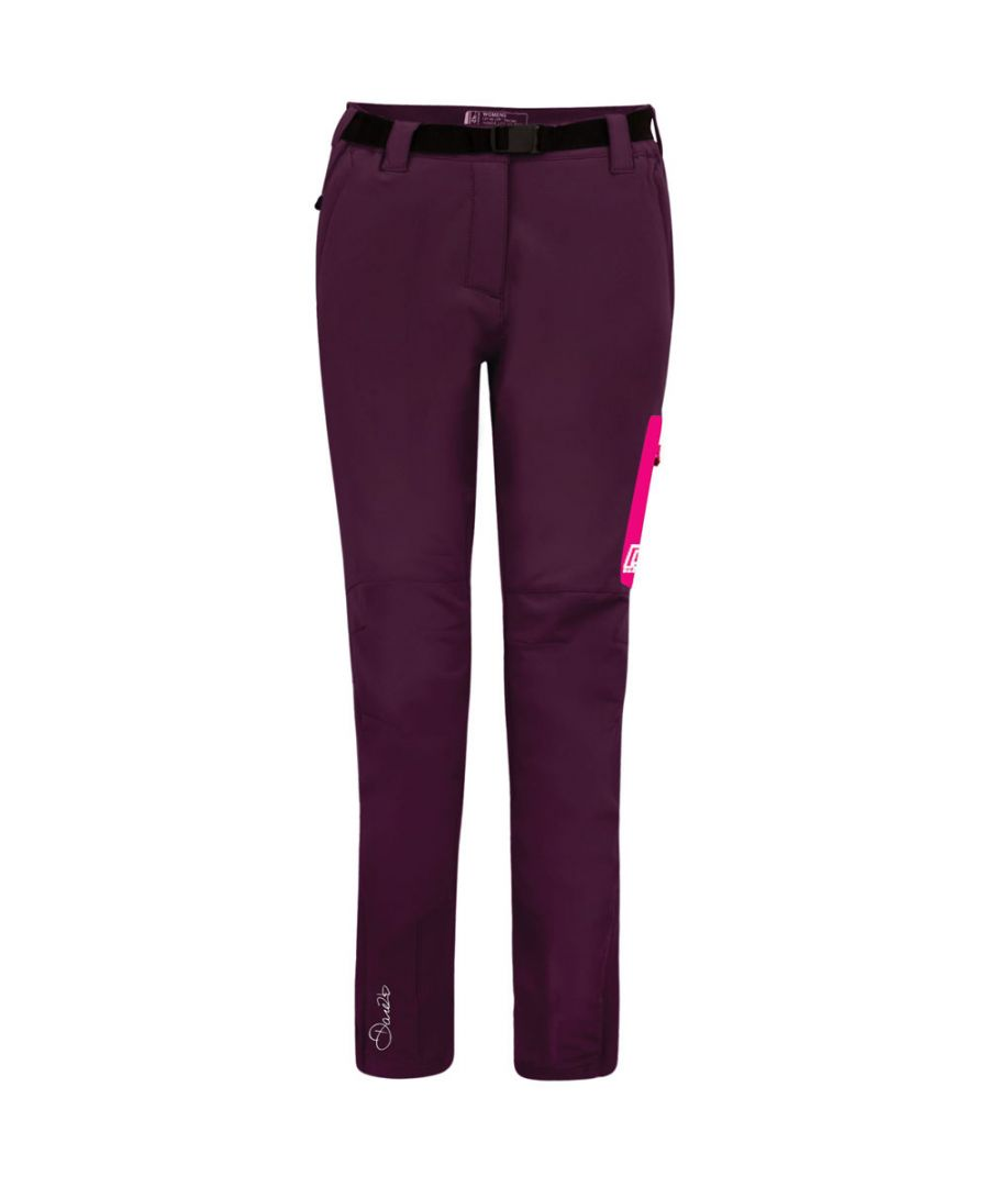 Image for Dare 2b Womens/Ladies Appressed Water Repel Softshell Walking Trousers