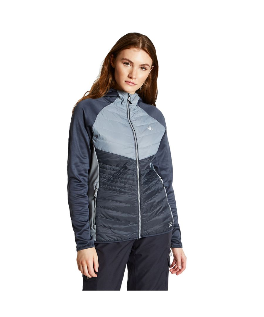 Image for Dare 2b Womens Nominate Wicking Insulated Hybrid Jacket