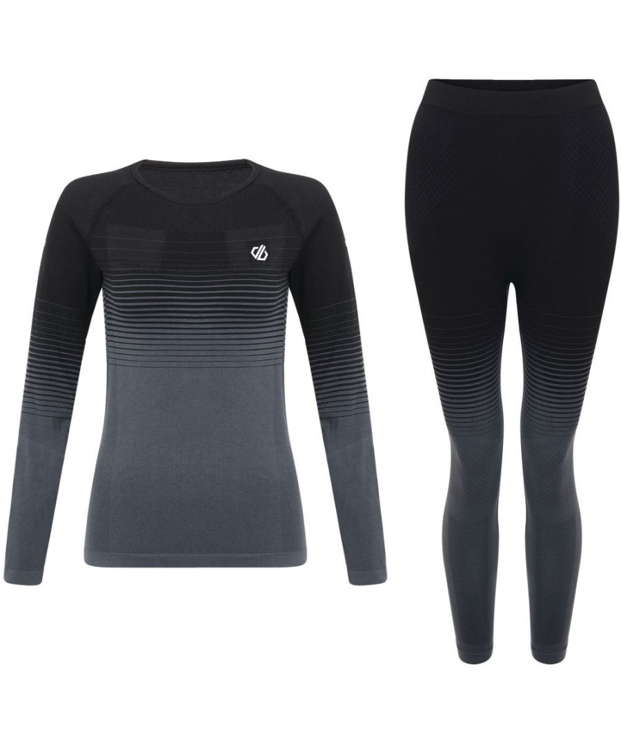 Image for Dare 2b Womens InTheZone Wicking Quick Dry Baselayer Set