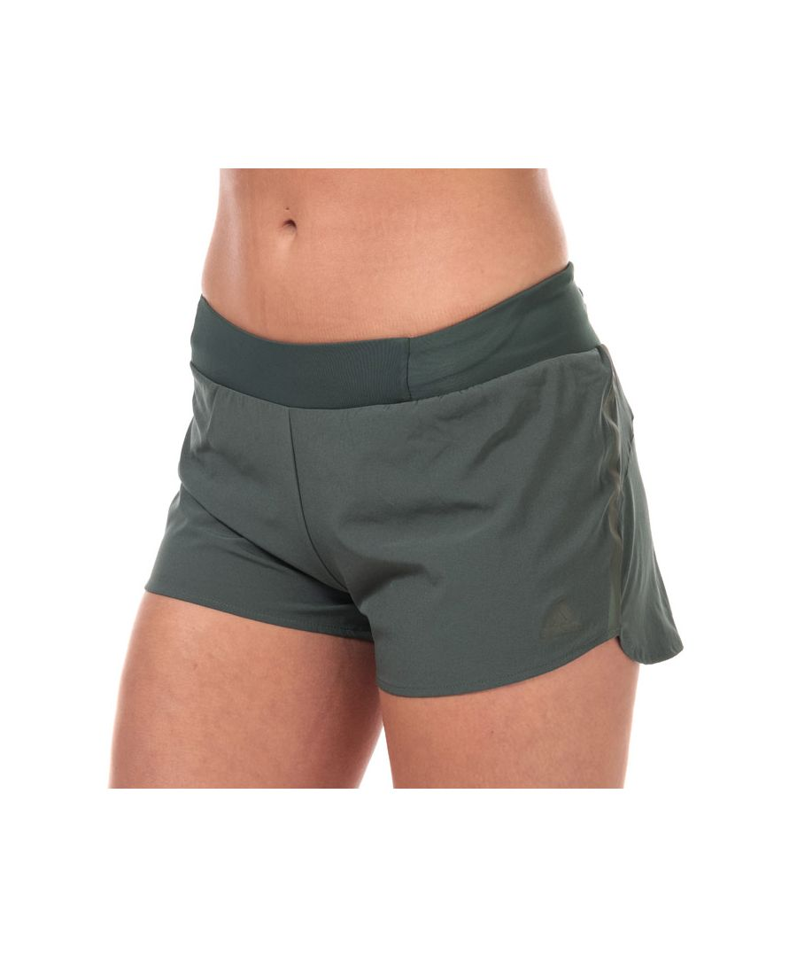 Image for Women's adidas Supernova Saturday 3 Inch Shorts in olive