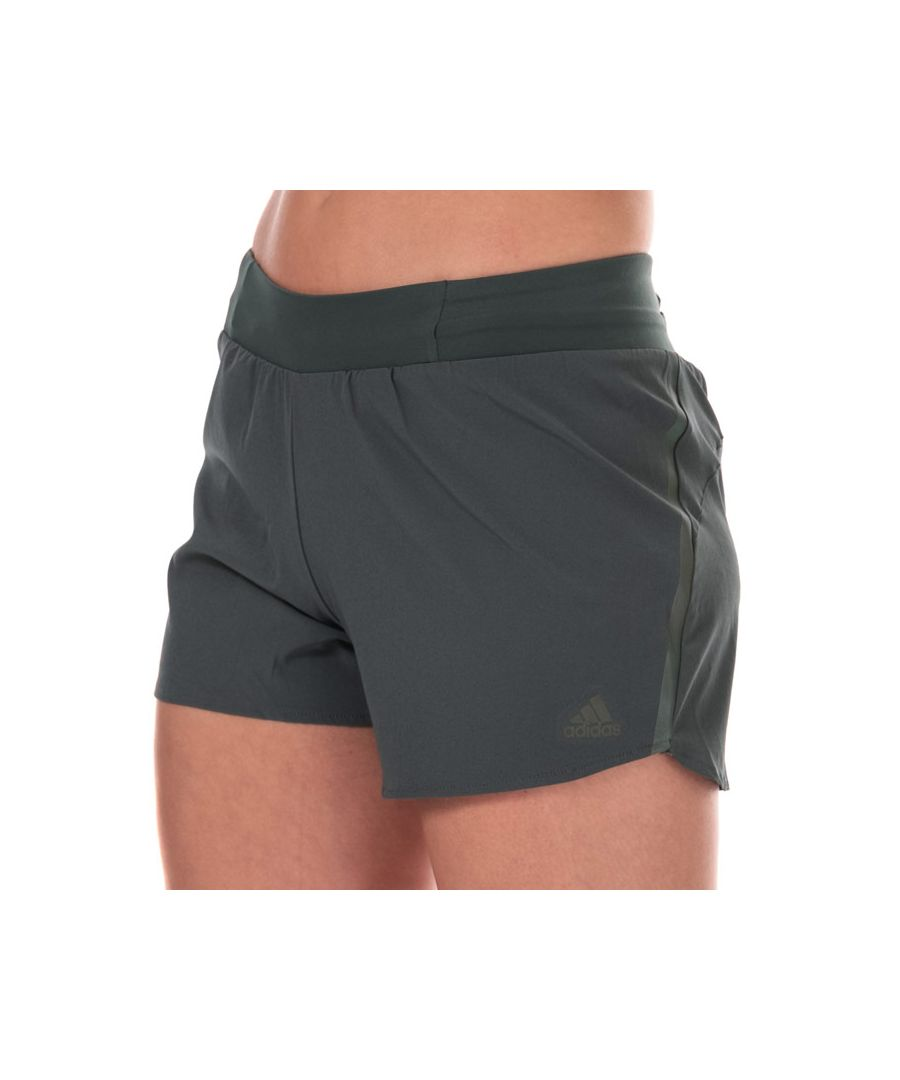 Image for Women's adidas Saturday 4 Inch Shorts in olive