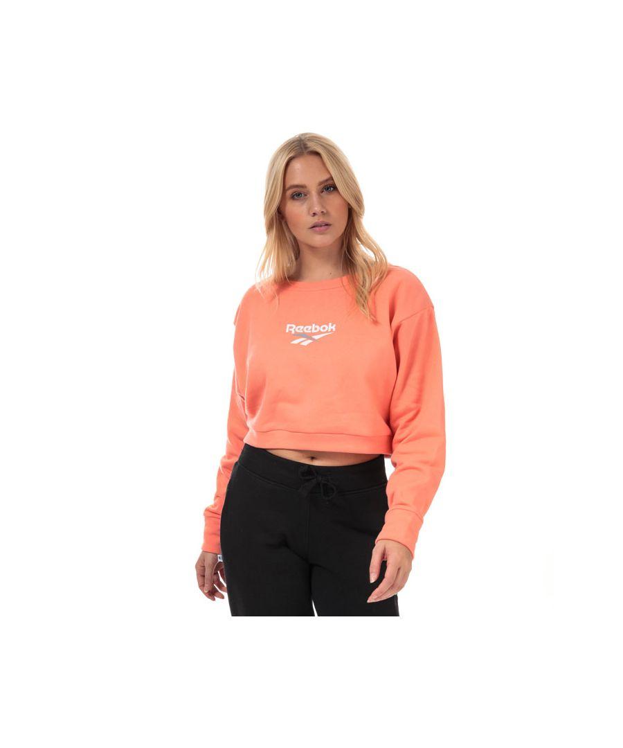 Image for Women's Reebok Classics Classics Vector Crew Sweatshirt in Pink