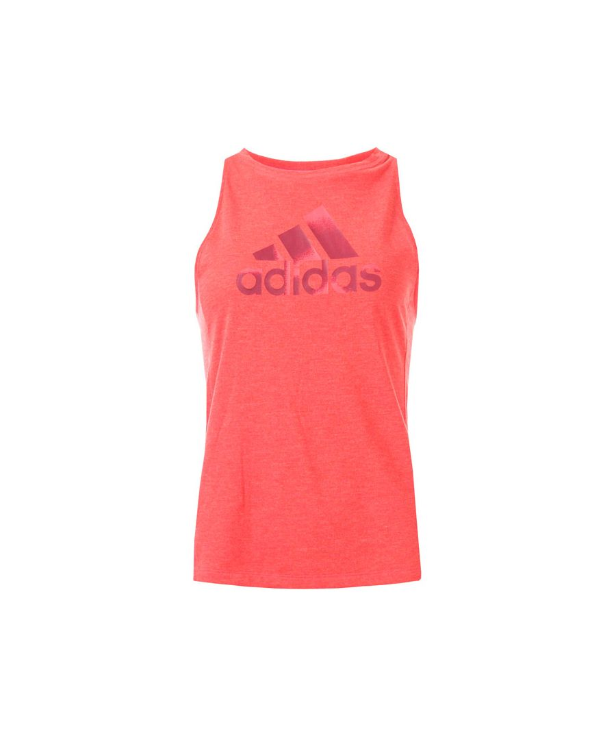 Image for Women's adidas Boxy Badge Of Sport Tank Top in Red