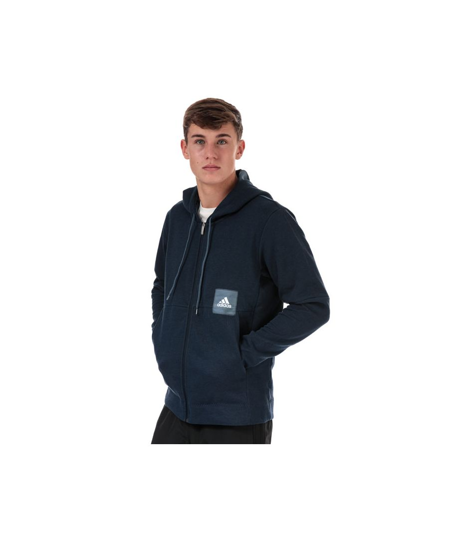 Image for Men's adidas Cross Up 365 Zip Hoody Navy Sin Navy