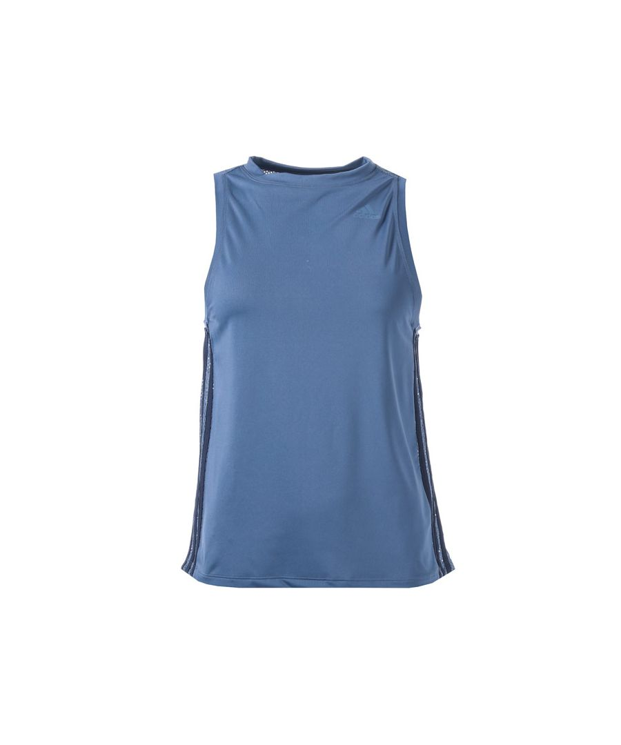Image for Women's adidas 3-Stripes Loose Tank Top in Blue