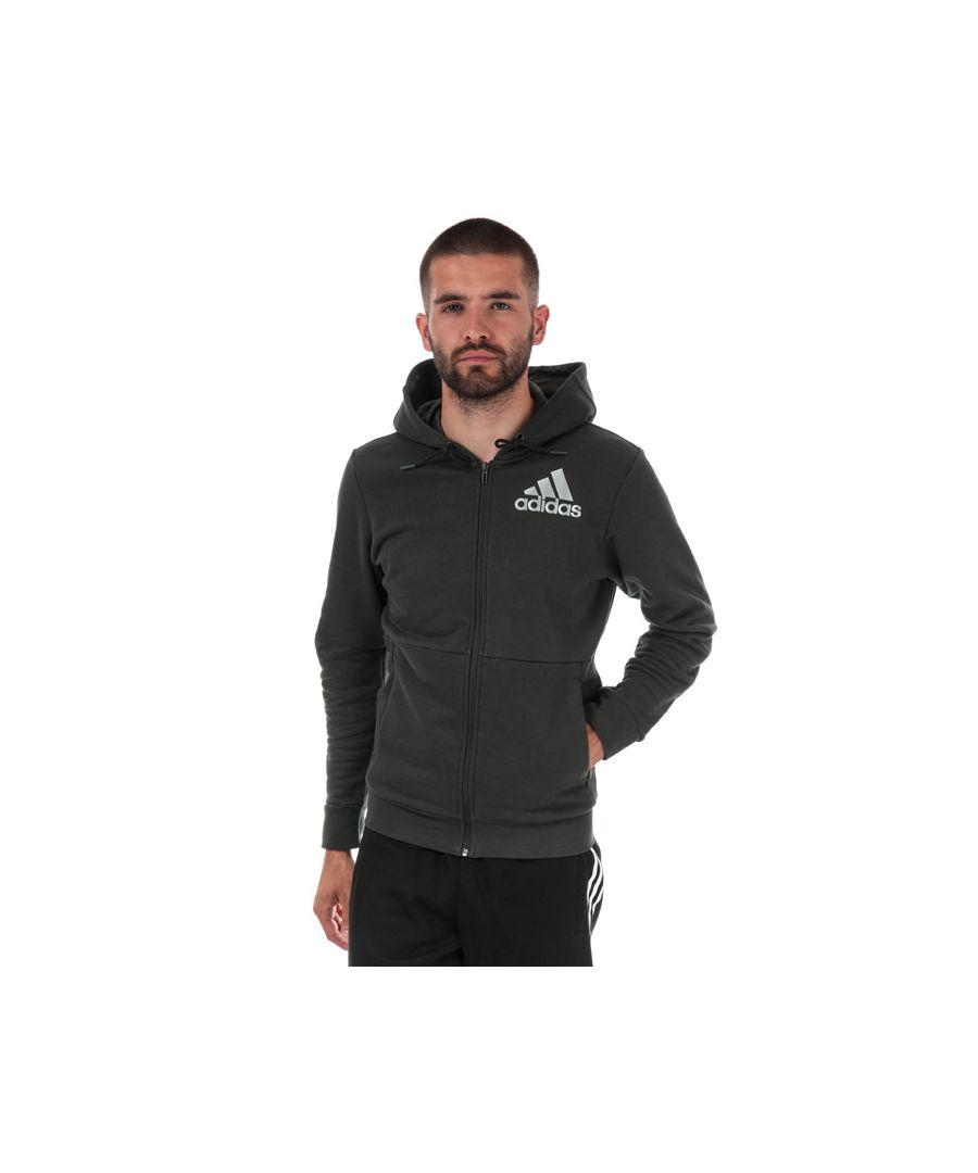 Image for Men's adidas Sport ID ZIp Hoody in Green