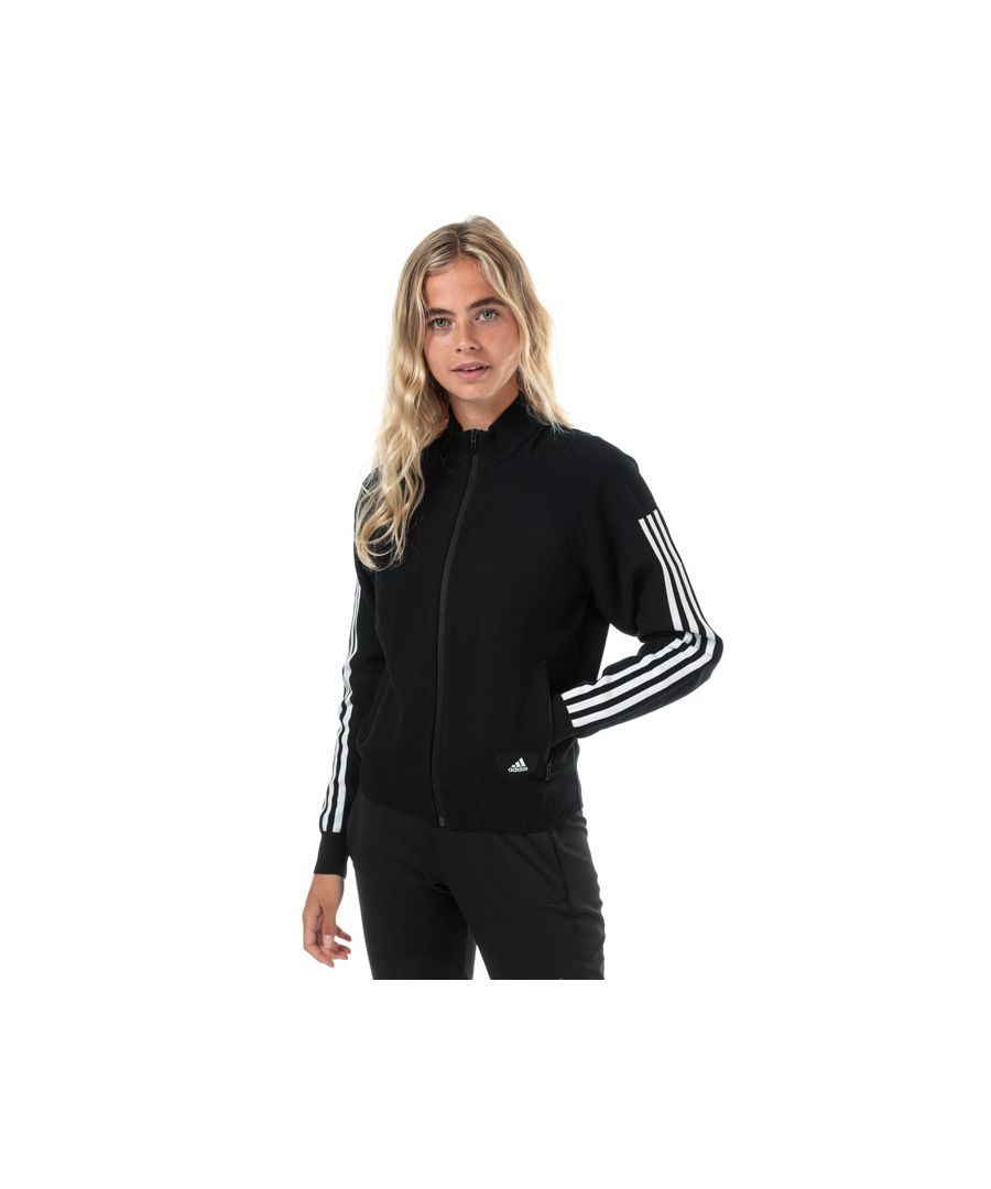 Image for Women's adidas ID Knit Track Top in Black