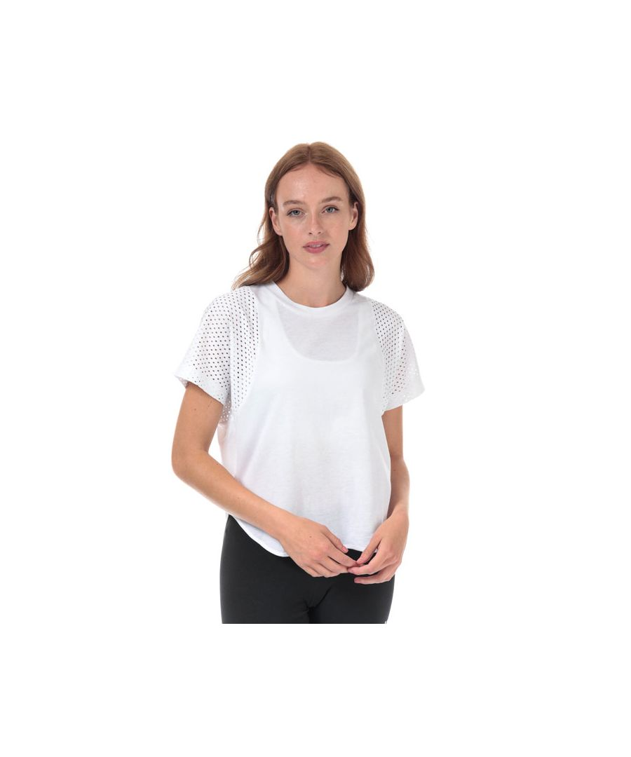Image for Women's adidas ID Mesh T-Shirt in White