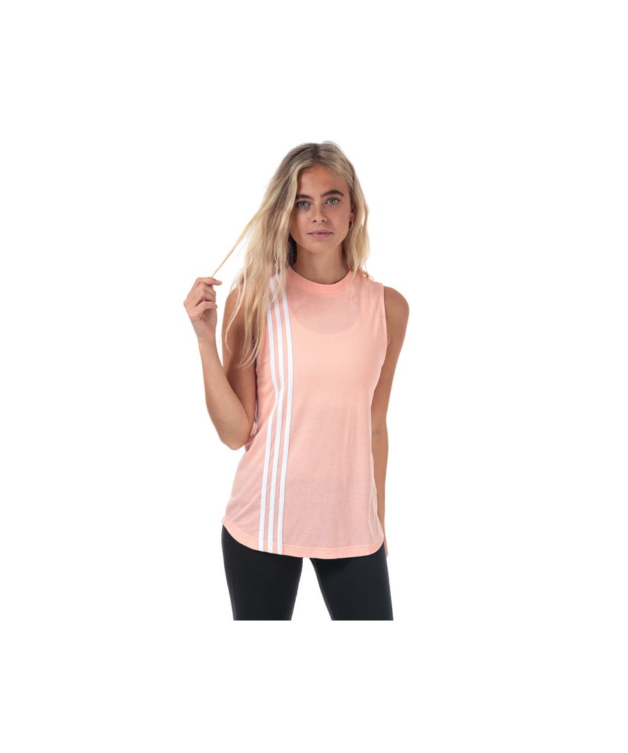 Image for Women's adidas Must Haves 3-Stripes Tank Top in Pink
