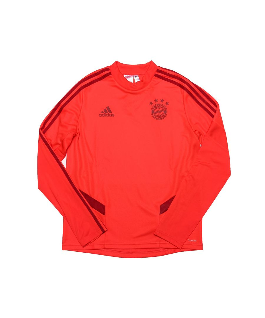 Image for Boy's adidas Junior FC Bayern Training Top in Red